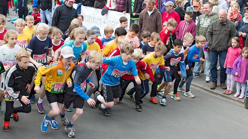 2-KM-Lauf Startszene