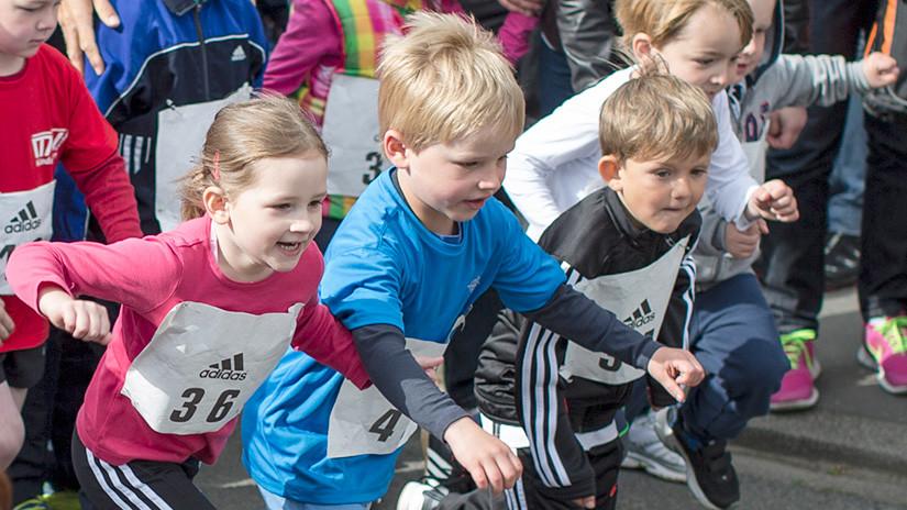 Startszene Bambini-Lauf
